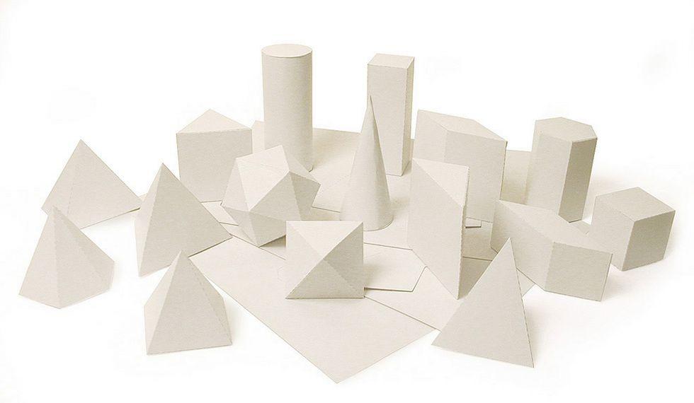 Sólidos Geométricos Planificados 20 figuras