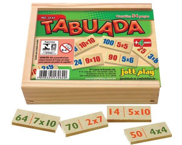 Tabuada ( 54 pç )
