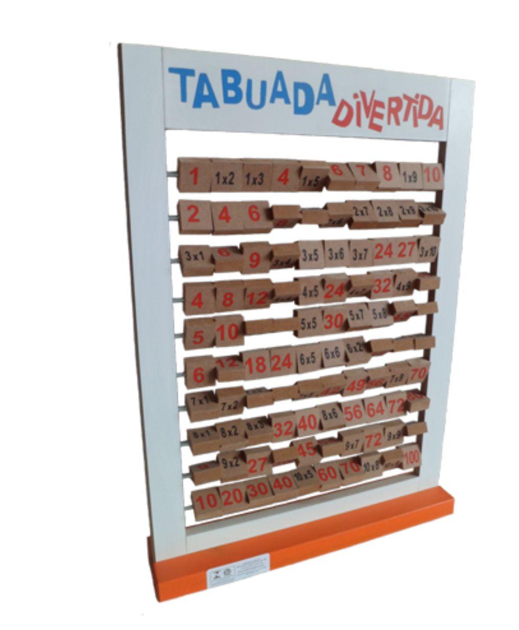 TABUADA DIVERTIDA