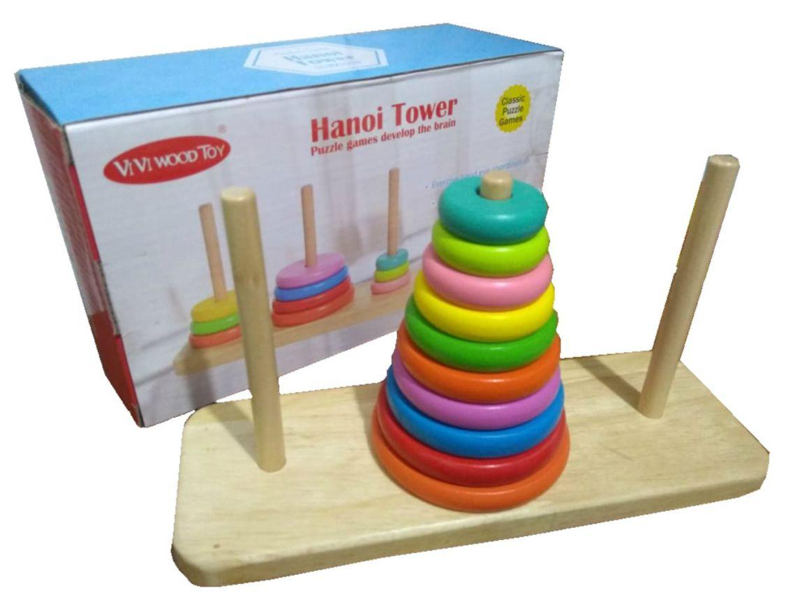 Torre de Hanói Colorida