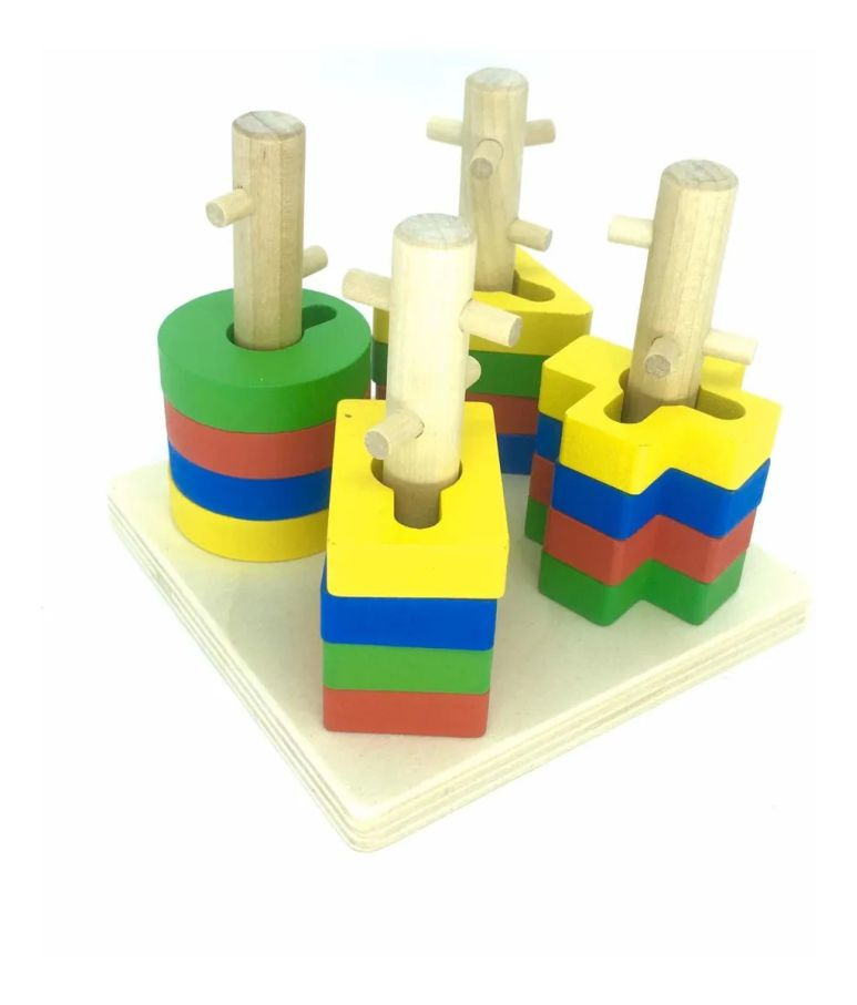 Torre Encaixe Formas Geométricas