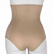 Cinta calcinha cós alto com zíper Reabilit 10024 no tecido cetinete indicado para pós parto e gestantes em geral