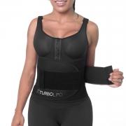 Cinta Modeladora (Biocrystal) ajustável Turbo Lipo redutor de cintura