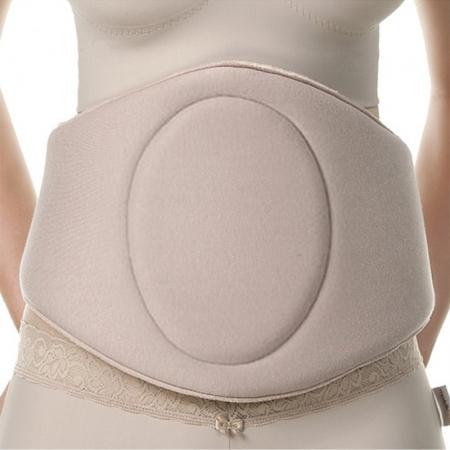 Cinturão de compressão placa tala p região flanco abdominal Modelleskin 4005 protetor p lipo abdômen frontal lateral
