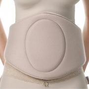 Cinturão rígido ModelleSkin 4005 para compressão abdominal e flancos. Placa tala que abrange toda cintura