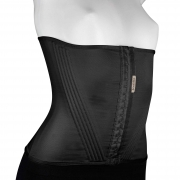 Cinturita Corpete com 20 barbatanas Mabella 1273 alta compressão na faixa abdominal, perca medidas e melhore a postura