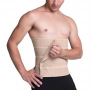 Faixa abdominal elástica compressiva de gomos Biobela 1625G4 estética e pós cirúrgica bariátrica abdominoplastia hérnia