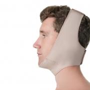 Faixa cirúrgica compressiva facial Modelleskin 84012 Ideal para lipoplastia ortográfica queixo otoplastia mentoplastia