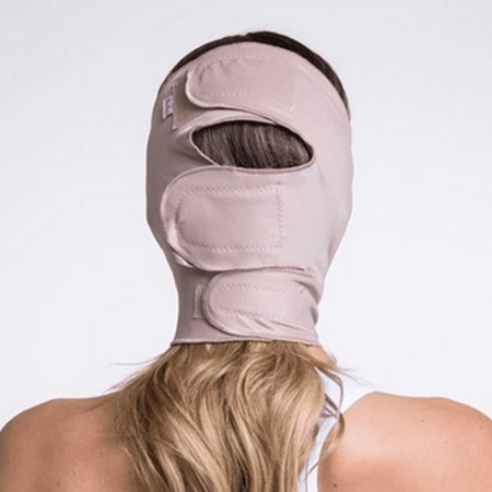 Faixa cirúrgica compressiva mentoneira facial mentoneira Biobela 1639 mentoplastia mini lifting otoplastia bichectomia