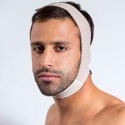 Faixa para cirurgia plástica facial (Reabilit 8012) com regulagem, indicado para cirurgia de Otoplastia Mento Papada Queixo Ritidoplastia Bichectomia Orelha de Abano Harmonia Lifting e Lipoplastia