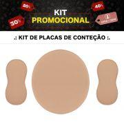 Kit Placa De Contenção Abdômen + Flancos