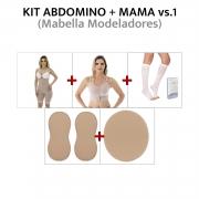 Kit pós cirúrgico p/ abdominoplastia + mama Mabella
