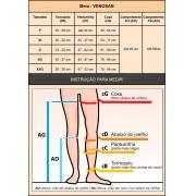 Meia compressiva Venosan 3/4 AES AD Estéril Antitrombo Antiembolia