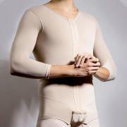 Modelador Masculino Reabilit C Mangas 8027 Gineco Lipoaspiração