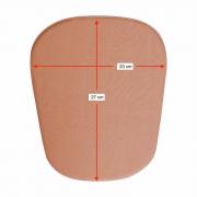 Placa/ tala de compressão formato retangular aresta arrendoda Biobela 1617B para região abdominal bariátrica lipo