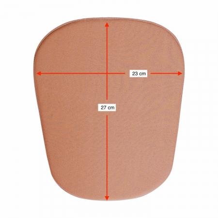 Placa/ tala de compressão formato retangular aresta arrendoda Biobela 1617BEVA para região abdominal bariátrica lipo
