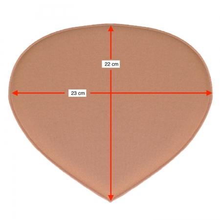 Placa tala traseira compressiva protetora sacral Biobela 1617SEVA para região do cóccix