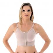 Sutiã cirúrgico compressivo Mabella 1150 alça fina com regulagens prótese mama silicone mamoplastia mastopexia lifting