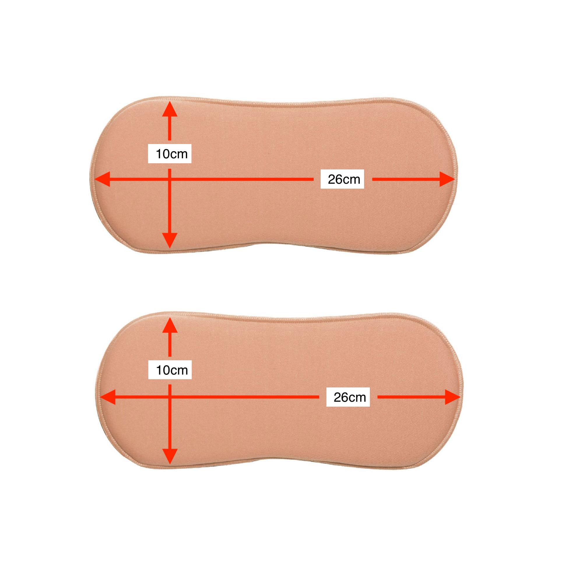 2un de placa tala rígida de compressão p flancos New Form 90016A pós cirúrgica conhecida como ossinho oitinho chinelinho  - Cinta se Nova