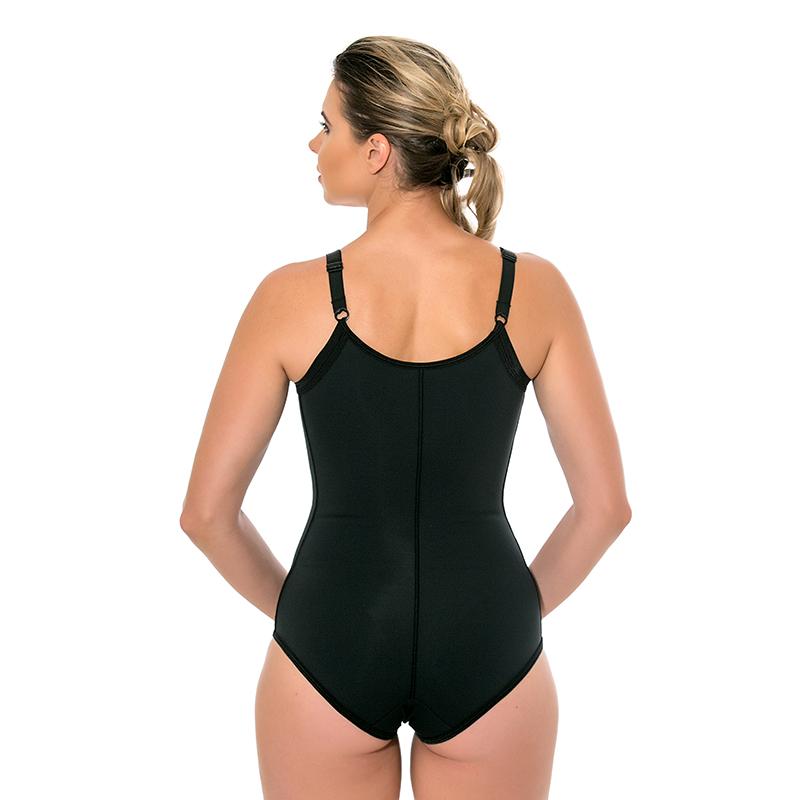 Body modelador cirúrgico compressivo Mabella 1012 melhor p lipoaspiração na região do abômen costas busto cintura mama  - Cinta se Nova