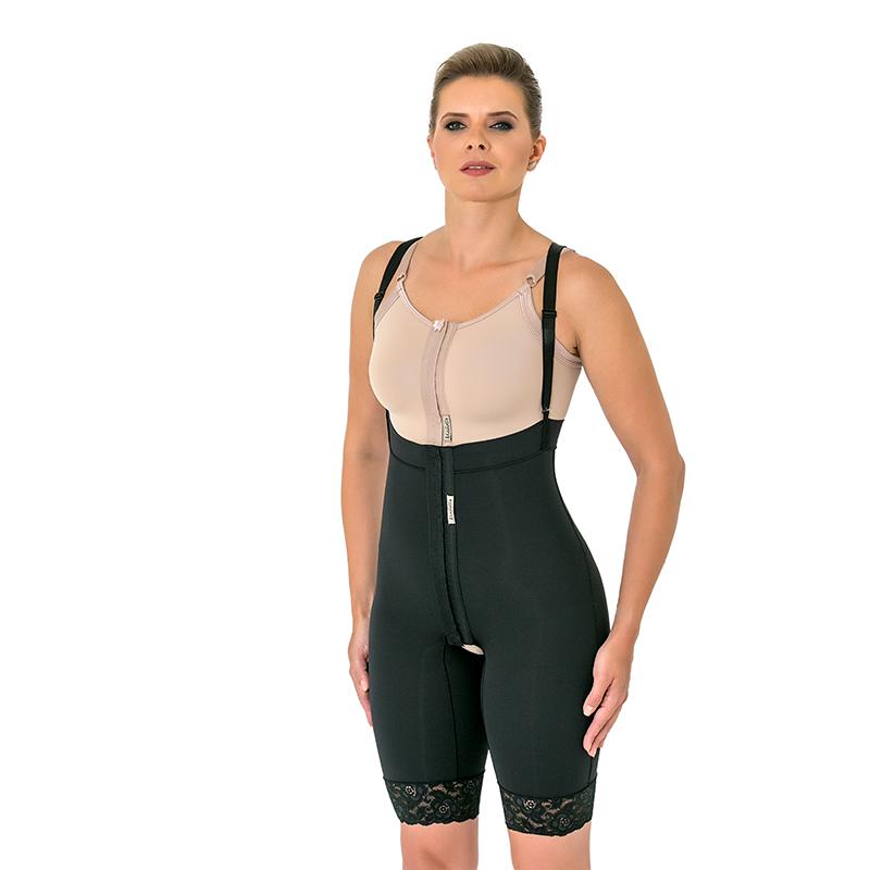 Cinta calção cirúrgica modeladora compressiva Mabella 1082 ideal para abdominoplastia lipo barriga culote costas lombar  - Cinta se Nova