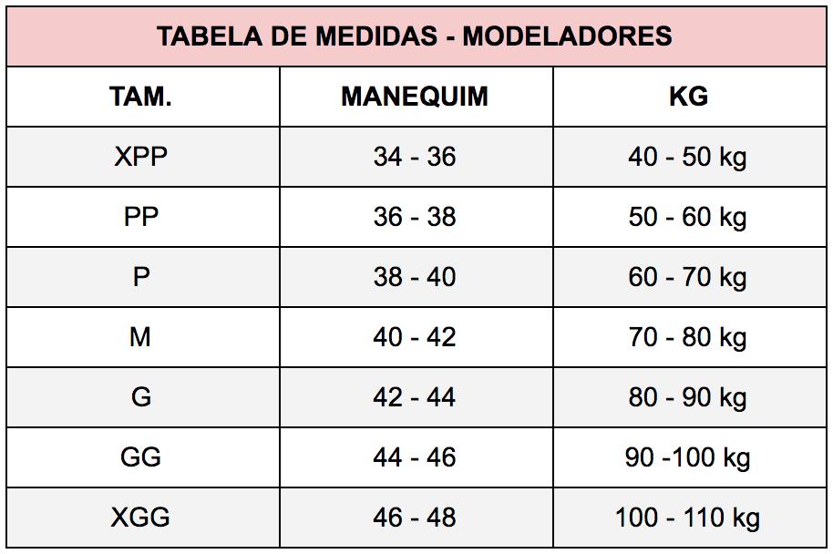Cinta Calção Modelleskin 84026 4026 Modelador Pós Cirúrgico