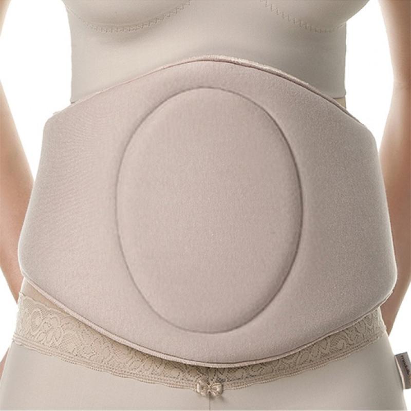 Cinturão rígido ModelleSkin 4005 para compressão abdominal e flancos. Placa tala que abrange toda cintura  - Cinta se Nova