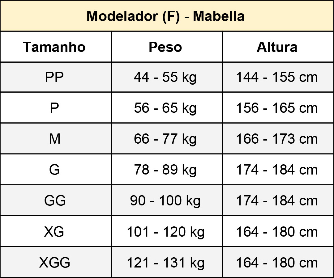 Cinturita Corpete com 20 barbatanas Mabella 1273 alta compressão na faixa abdominal, perca medidas e melhore a postura  - Cinta se Nova