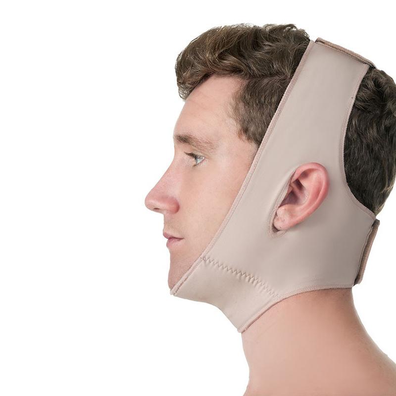 Faixa cirúrgica compressiva facial Modelleskin 84011 Para lipo lifting na face cirurgia ortográfica queixo mentoplastia  - Cinta se Nova