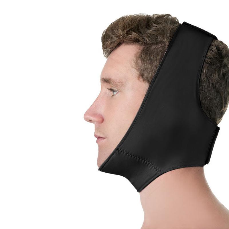 Faixa cirúrgica compressiva facial Modelleskin 84012 Ideal para lipoplastia ortográfica queixo otoplastia mentoplastia  - Cinta se Nova