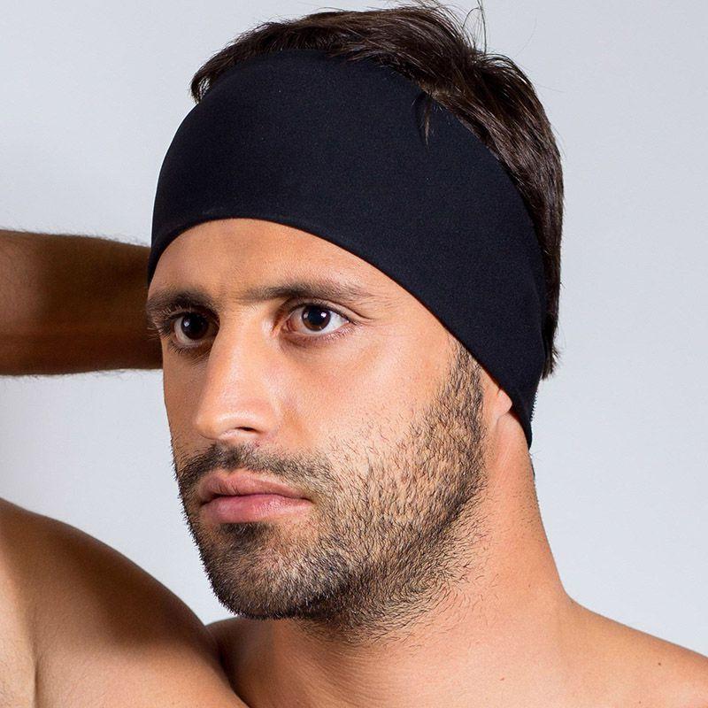 Faixa de compressão facial Reabilit 8011 para otoplastia frontoplastia pós cirúrgica c regulagem em velcro