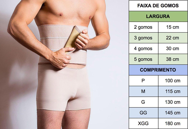 Kit Cirurgia Bariátrica 8014 Reabilit (Faixa Abdominal + Meia Anti Trombo)