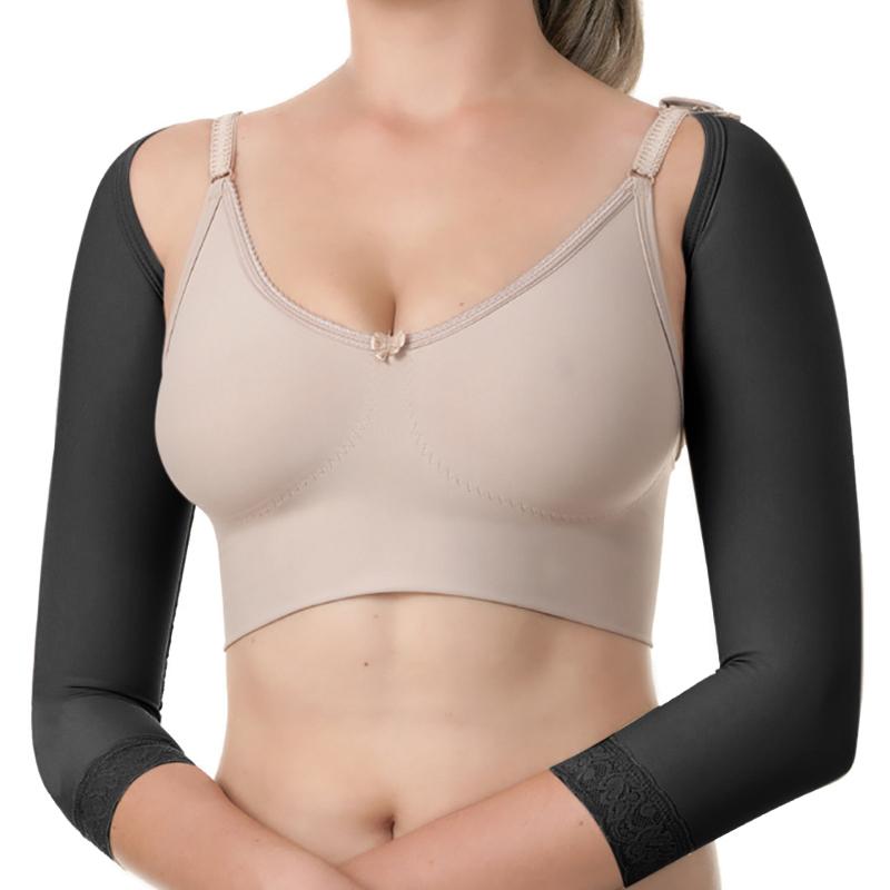 Manga longa modeladora cirúrgica compressiva Modelleskin 84000 Emana ideal para lipo no braço antebraço braquioplastia  - Cinta se Nova