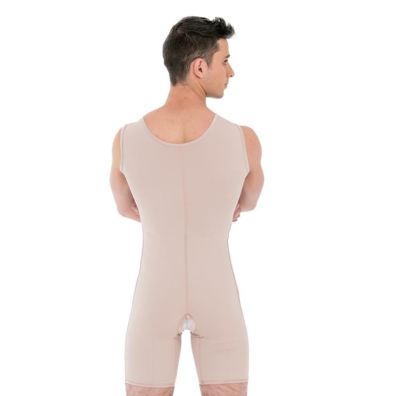 Modelador masculino cirúrgico compressivo Mabella 1191 macaquinho ideal para lipo barriga bariátrica pneu culote pochete  - Cinta se Nova