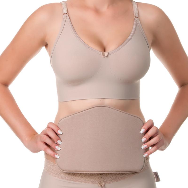 Placa/ tala de compressão para região lombar, sacral, cóccix e/ou abdominal Modelleskin 4106 ideal para pós cirúrgico  - Cinta se Nova