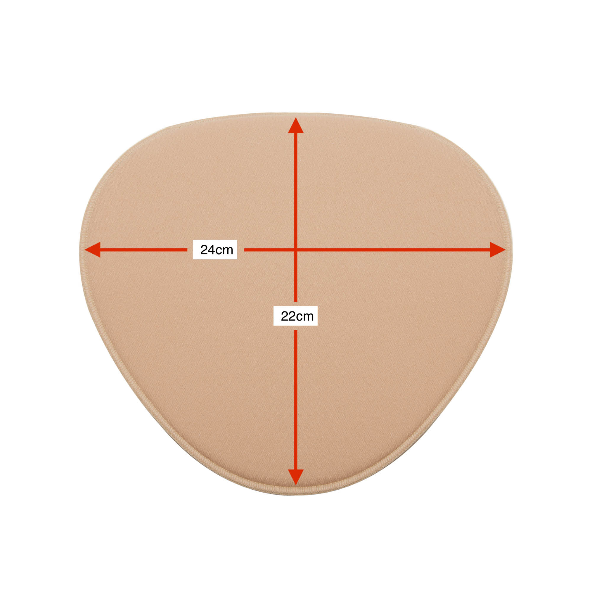 Placa tala rígida pós cirúrgica compressiva para cóccix e costas New Form 90015A formato pera. Ideal p hidrolipoplastia  - Cinta se Nova