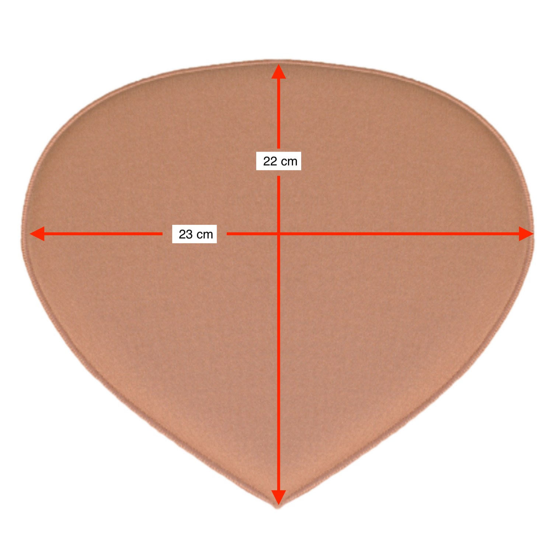 Placa tala traseira compressiva protetora sacral Biobela 1617SEVA para região do cóccix  - Cinta se Nova