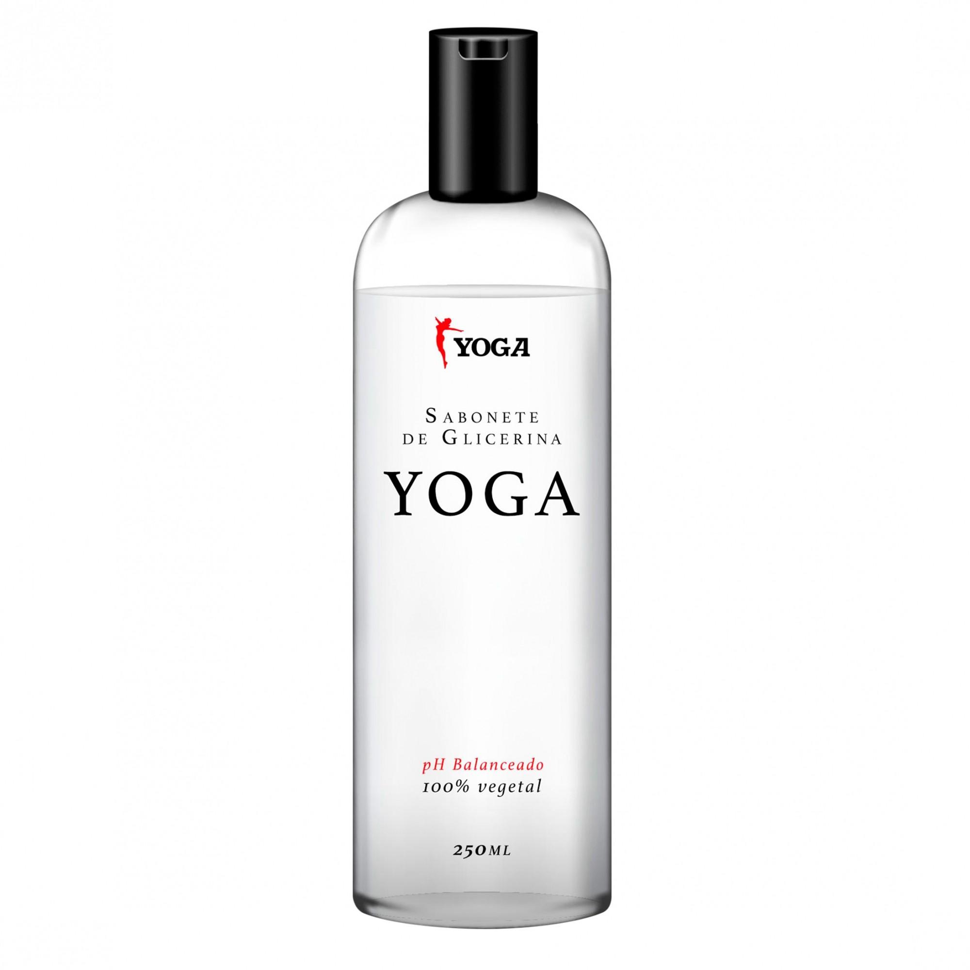 Sabonete líquido de glicerina Yoga, específico para malha compressiva 250ml