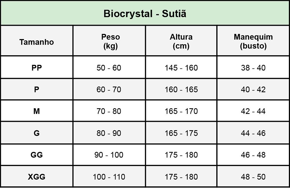 Sutiã Cirúrgico Biocrystal 8003 Operatório Mamoplastia Prótese Mastopexia Lifting Braço  - Cinta se Nova