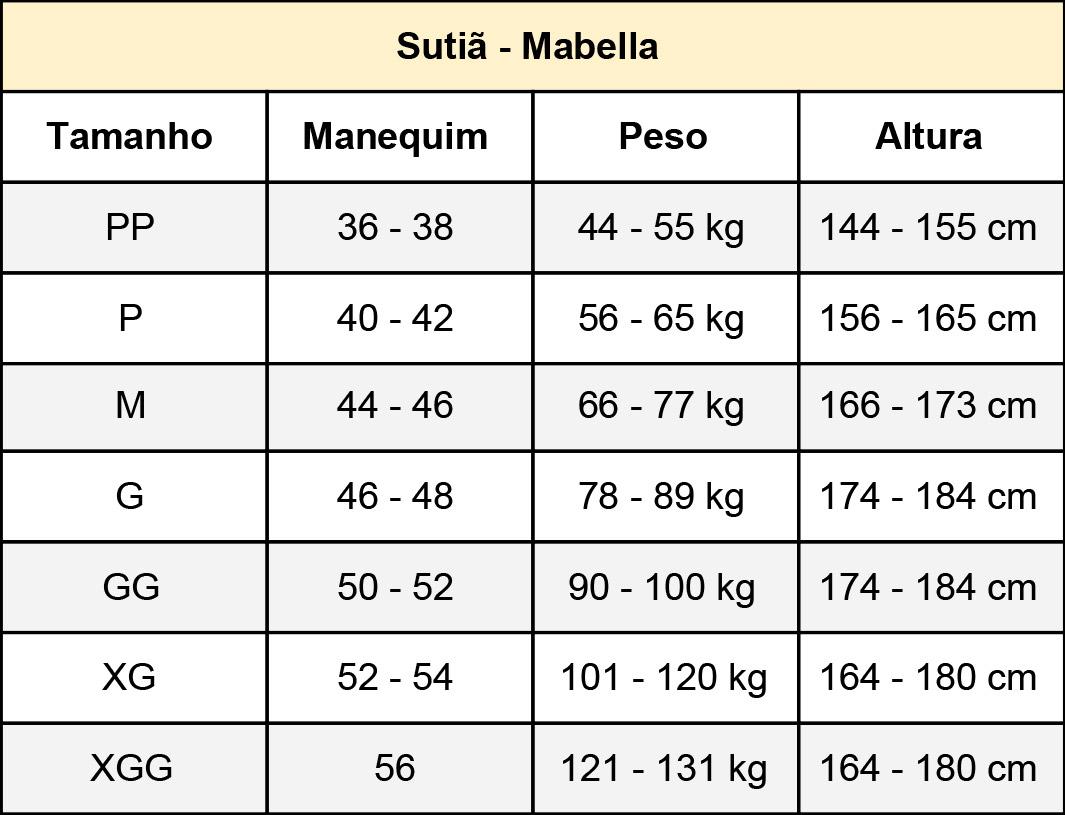 Sutiã Operação Cirúrgico Mama Mabella 2160 Melhor Prótese Mamoplastia  - Cinta se Nova