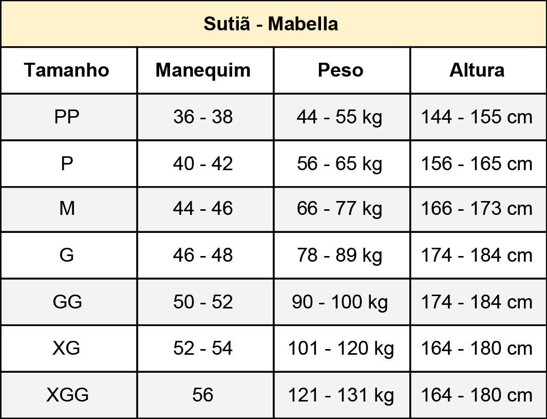 Sutiã cirúrgico compressivo Mabella 1150 alça fina com regulagens prótese mama silicone mamoplastia mastopexia lifting  - Cinta se Nova