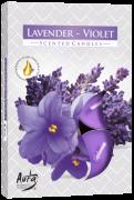 Aroma Lavanda/Violeta 6 unid.