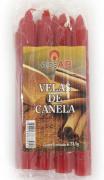 Vela palito canela c/8