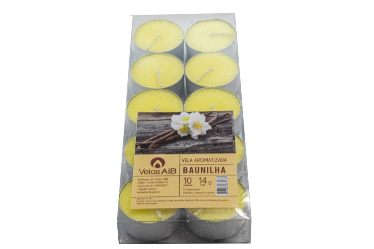 Aroma Baunilha c/10 unid.