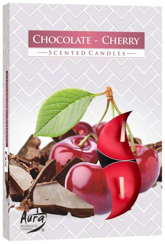 Aroma Chocolate/Cereja 6 unid.