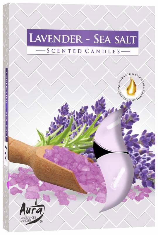 Aroma Lavanda/Sal marinho mar 6 unid.