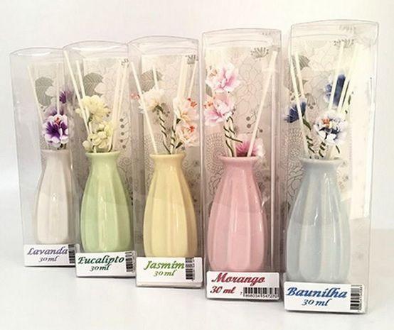 Aromatizador de Ambiente Vaso com Flores - 30ml
