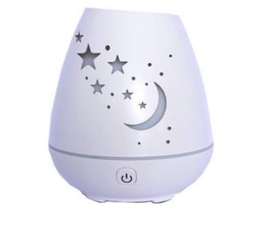 Aromatizador e Umidificador Lua e Estrelas USB