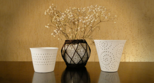 Cerâmica Vaso PQ