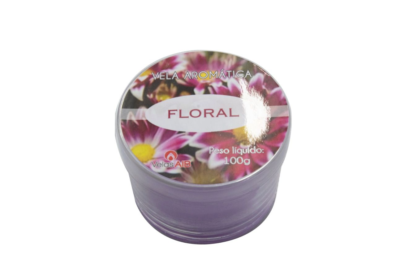 Copo Patê Floral